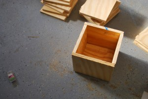 Alphabet Blocks Inspired Play Table by Toolbox Divas