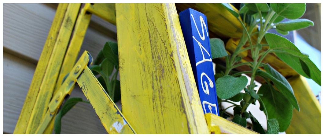 Make Garden Markers with Scraps