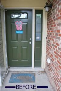 Front-Door-Before sign
