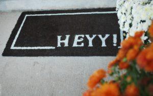 HeYY Doormat