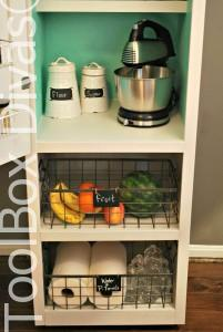Mobile Pantry Cabinet by Toolbox Divas