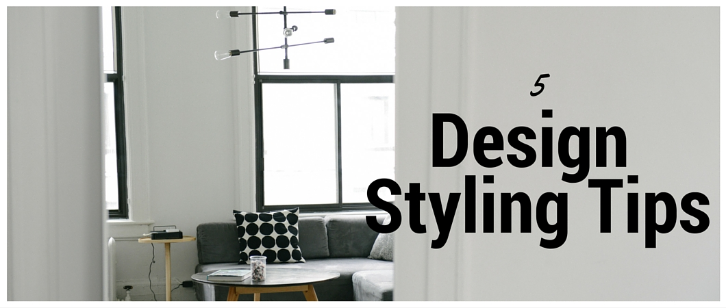 5 Decorative Styling Tips