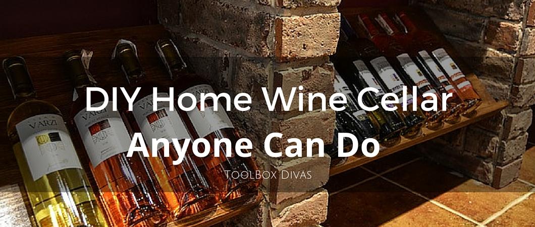 Building a Small Wine Cellar: A DIY Job