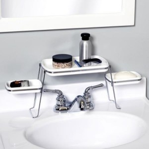 Small Spaces Over-the-Faucet Shelves By: Small Spaces