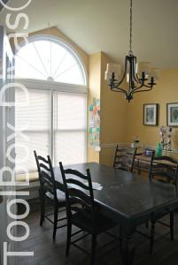 Toolbox Divas dining room before