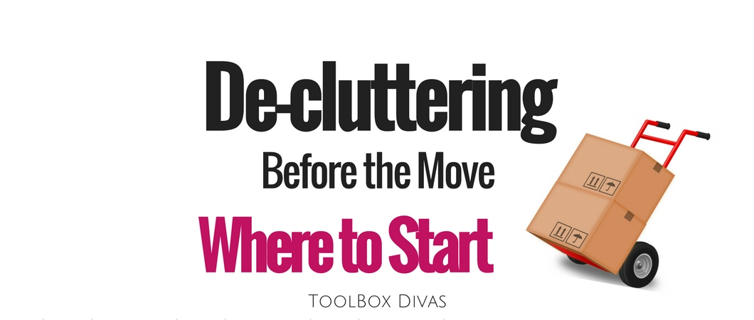 Decluttering Before Moving: Where to Start