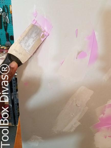 Learn How to Patch a Hole in Drywall - Toolbox Divas small holes in wall