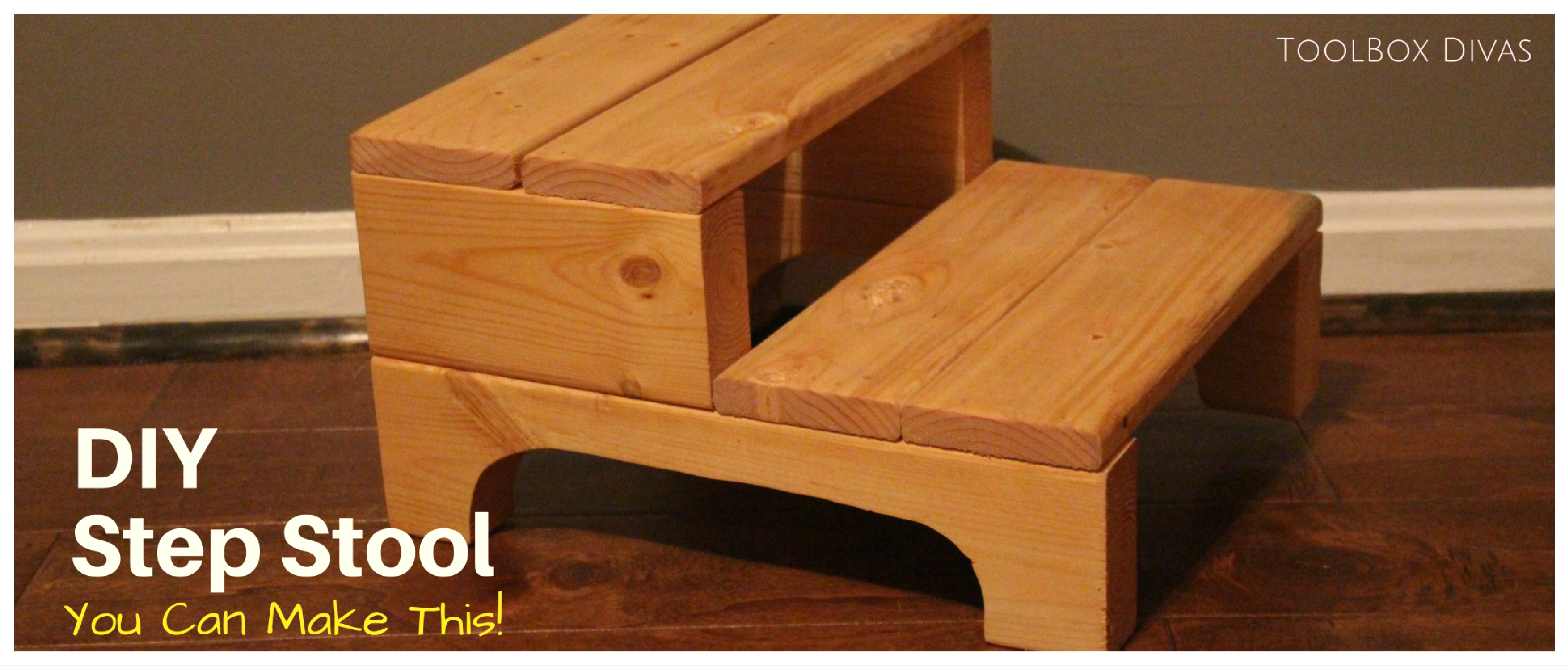 How to Make a Simple Step Stool
