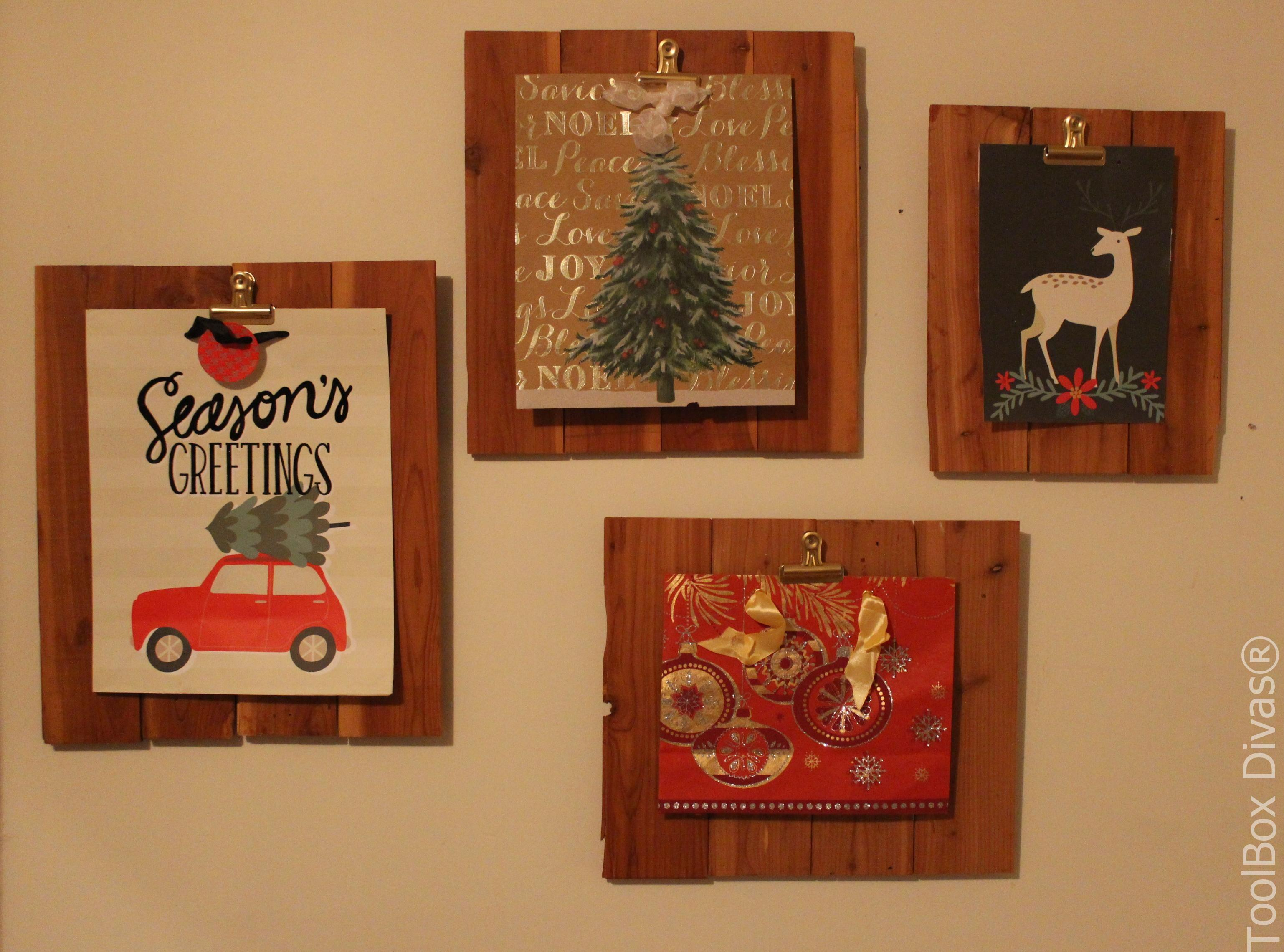 Gift Bags Turned Wall Art