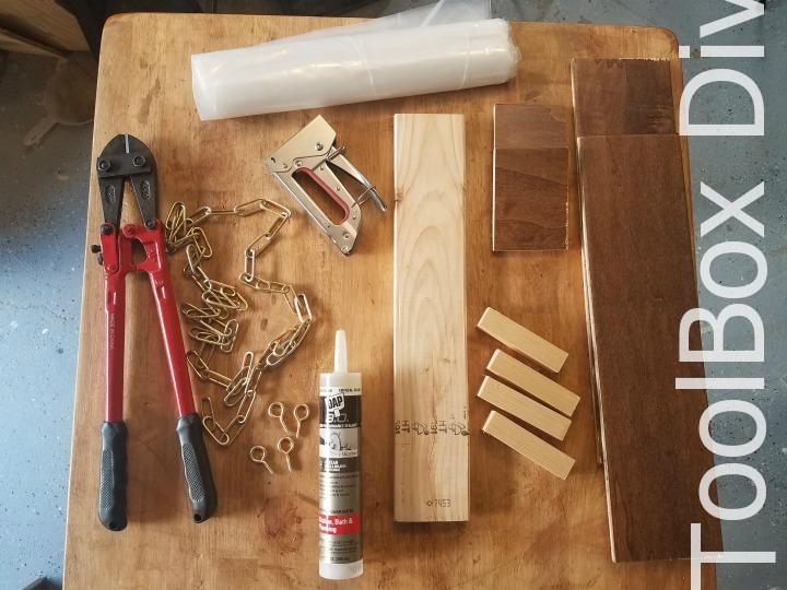 supplies - Indoor Vertical Garden - Toolbox Divas