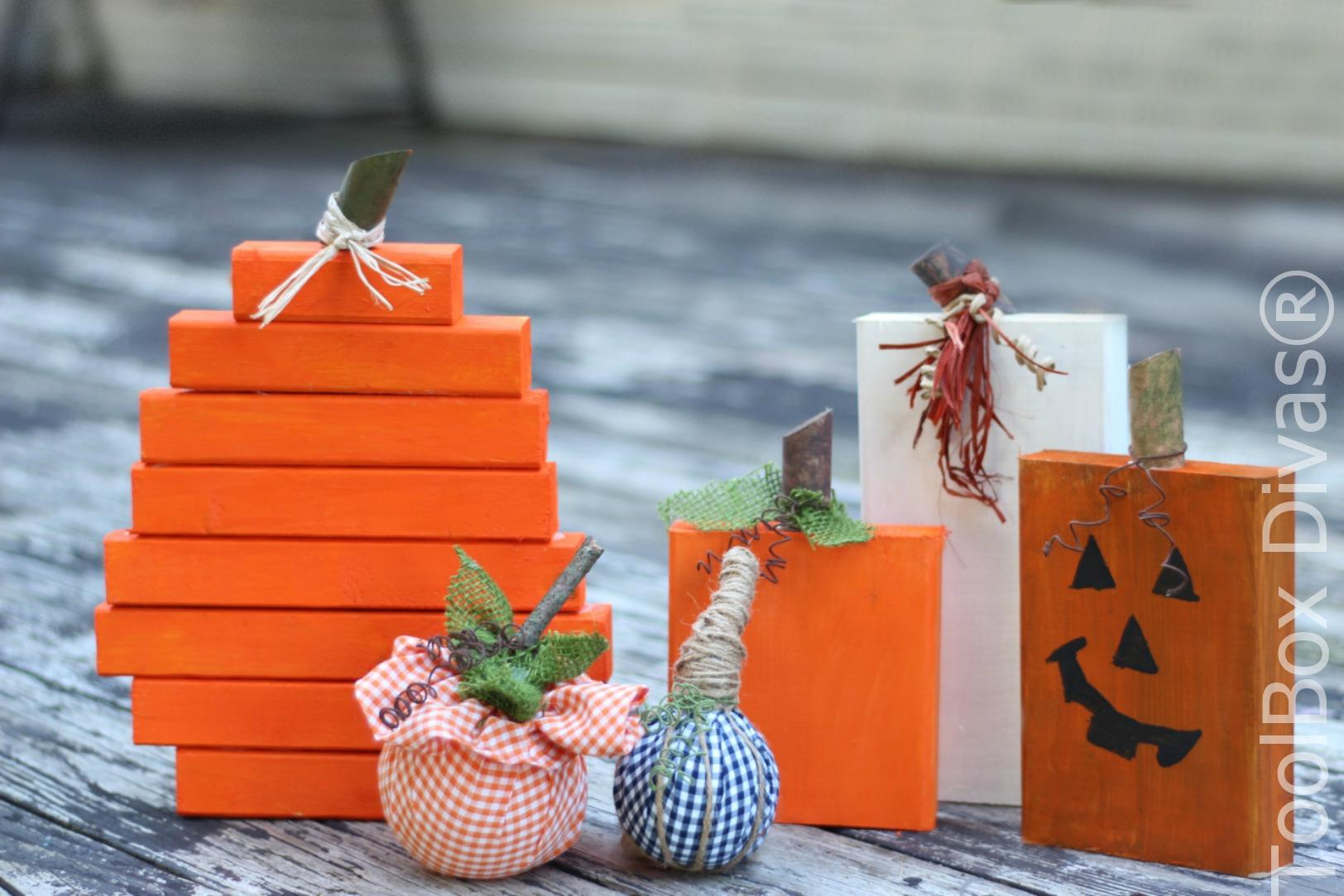 Fall in Love with Pumpkins – 4 Easy DIY Pumpkin Projects