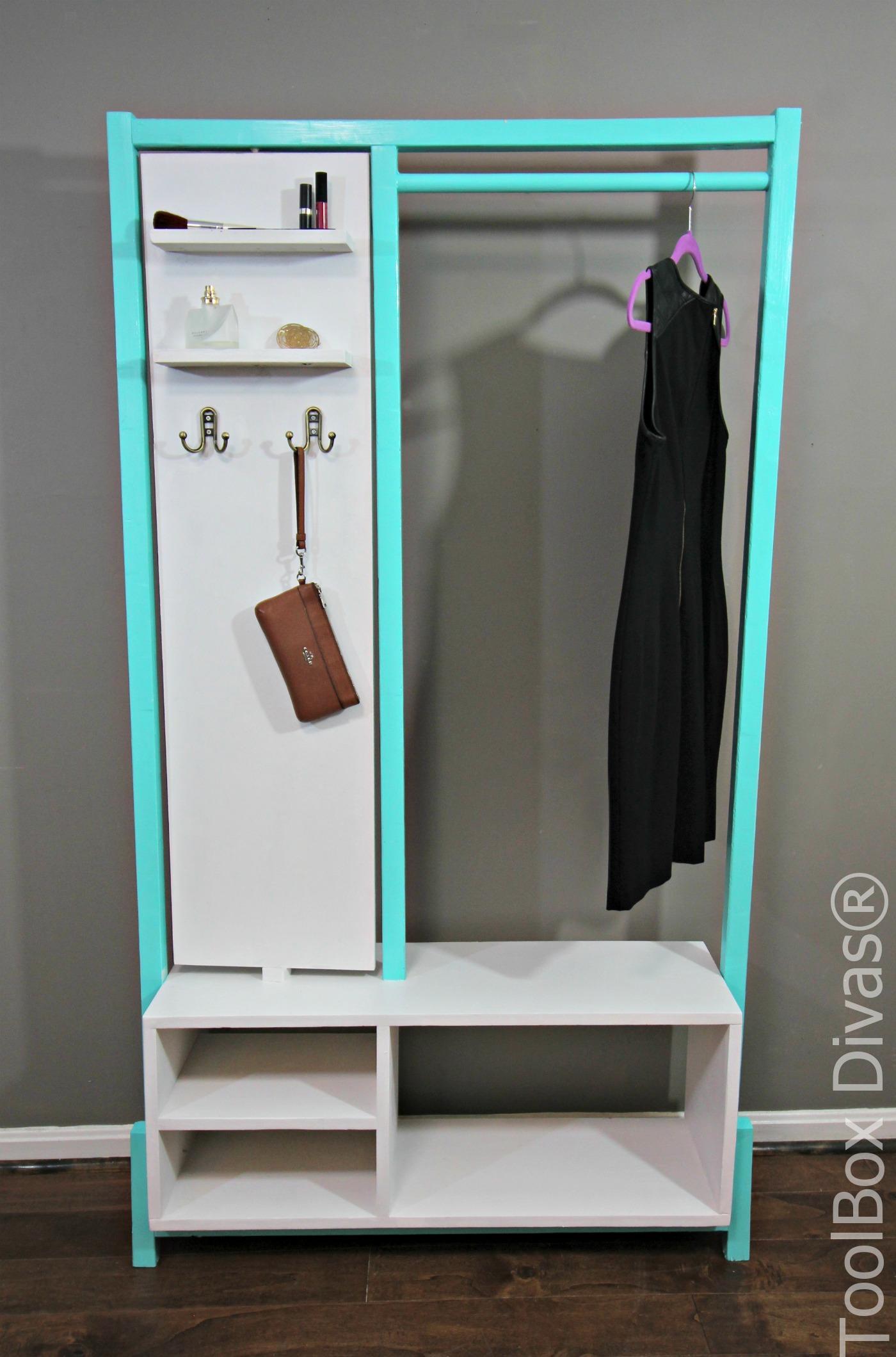 Stylish DIY Minimalist Clothes Rack