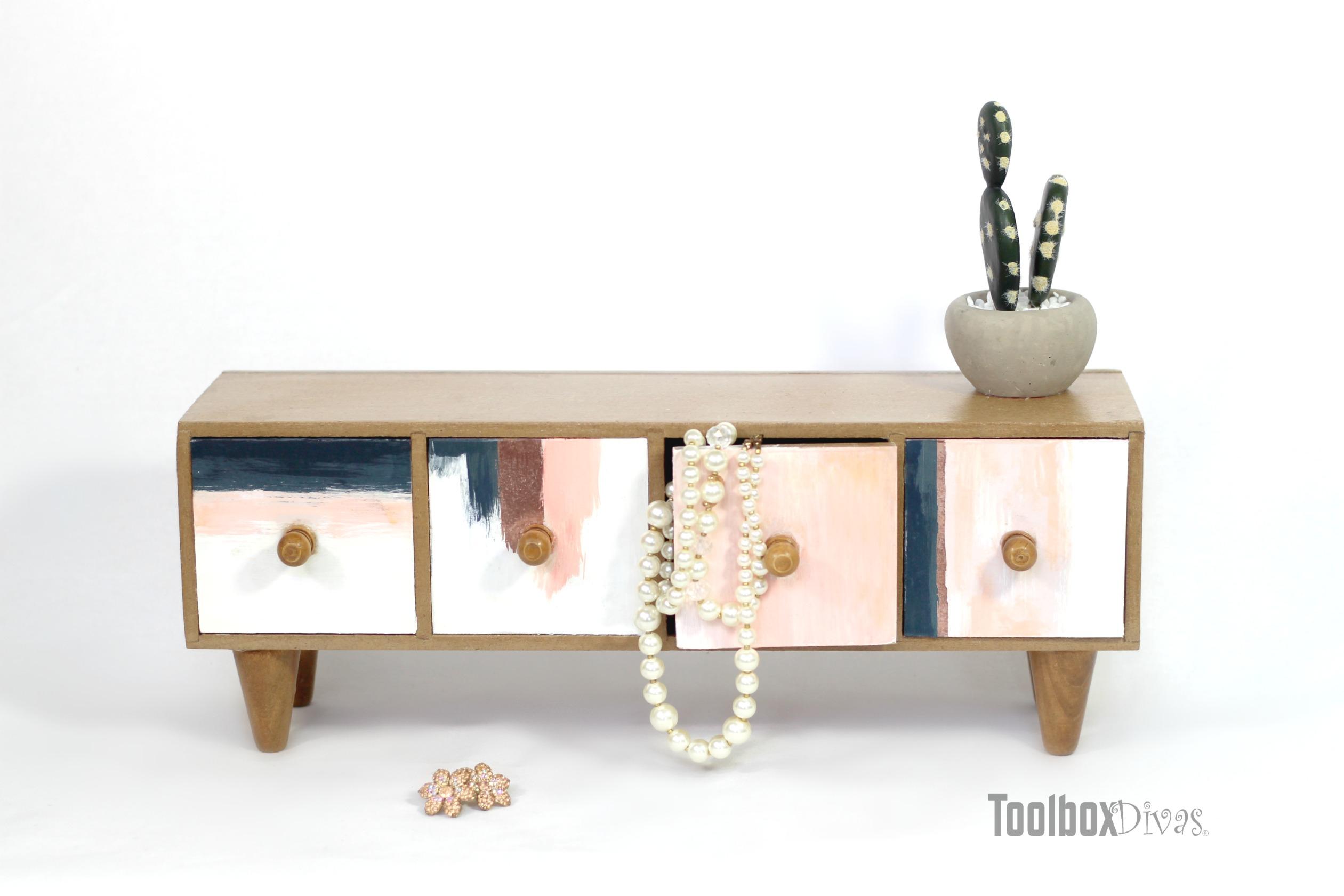 Every Girl's Dream Jewelry Dresser