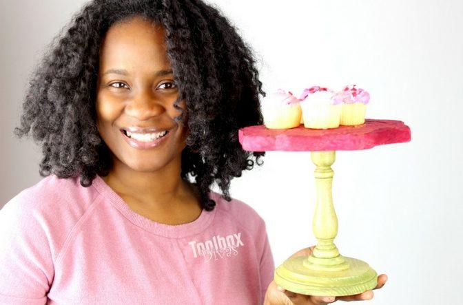DIY Mini Cake Stand