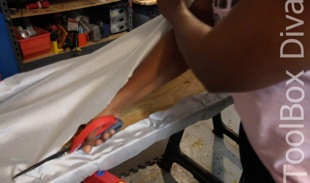 How to diamond tufting - Toolbox Divas 15