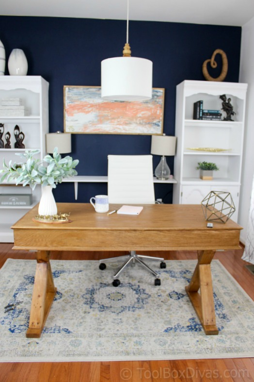 Home Office Makeover on a Budget