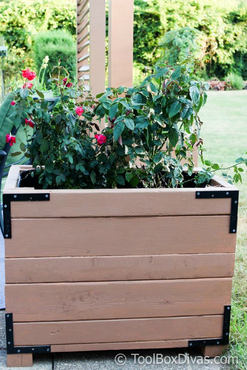 How To Build a Large Planter Box Using Scrap Wood