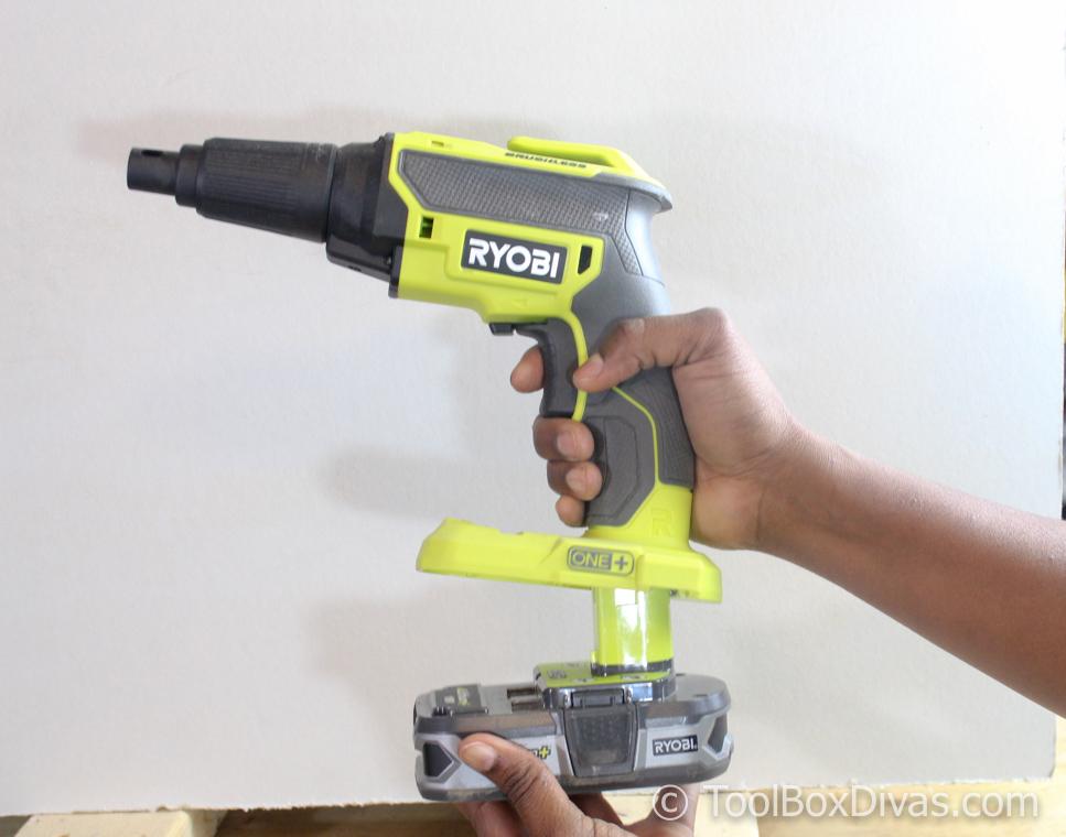 Review of theRyobi 18-Volt ONE+ Brushless Drywall Screw Gun