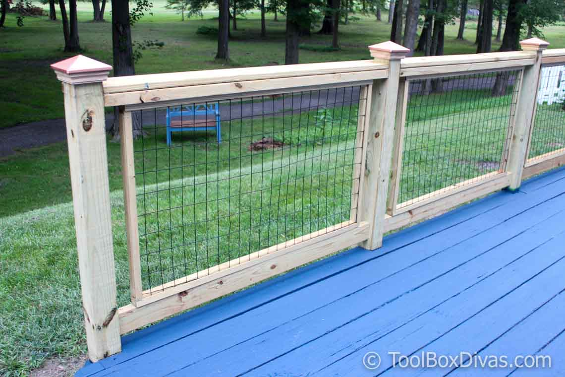 How To Easily Build and Install Deck Railing