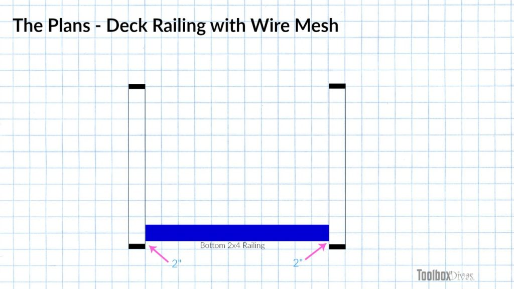 How To Easily Build And Install Deck Railing Toolbox Divas