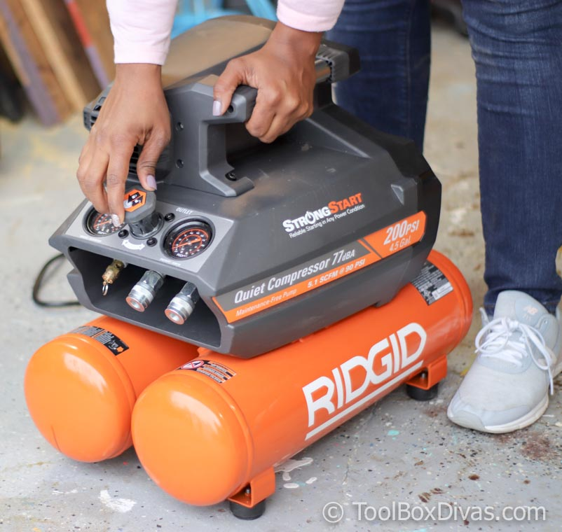 Tools 101: How to Setup and Use An Air Compressor and Finish Nail Gun