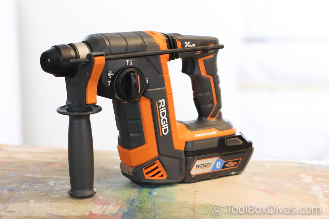 Review of RIDGID OCTANE Brushless 18V 1 in. SDS-Plus Rotary Hammer