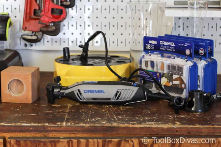 Dremel 4300 Series Rotary Tool and Accessories