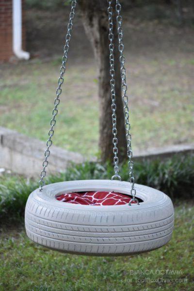 DIY Tire swing - Toolboxdivas