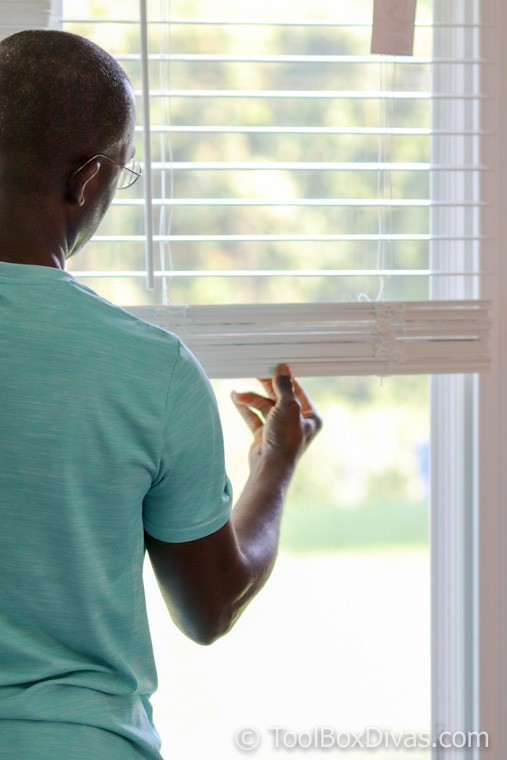 How to Install Faux Wood Blinds