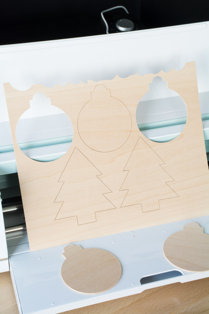 cutting basswood on the Cricut Maker