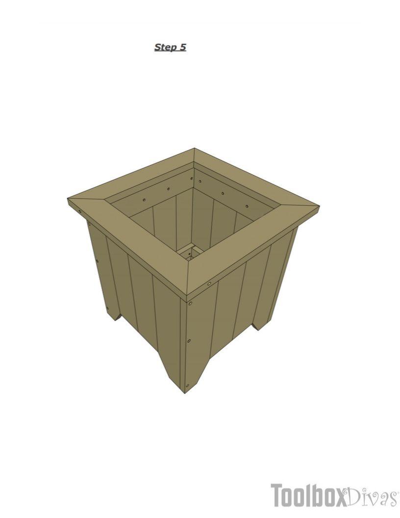 DIY Planter Box - ToolBox Divas