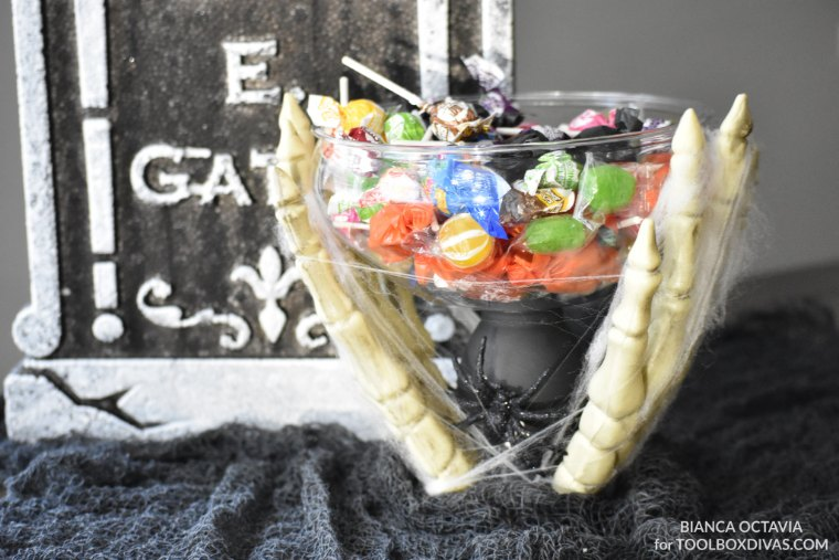 Spooky Skeleton Candy Bowl