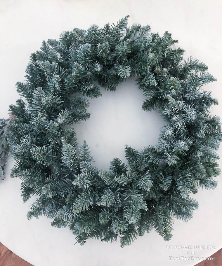 Winter Wreath ideas recycle Christmas into the Winter Decorations @ToolBox Divas diy wreath ideas