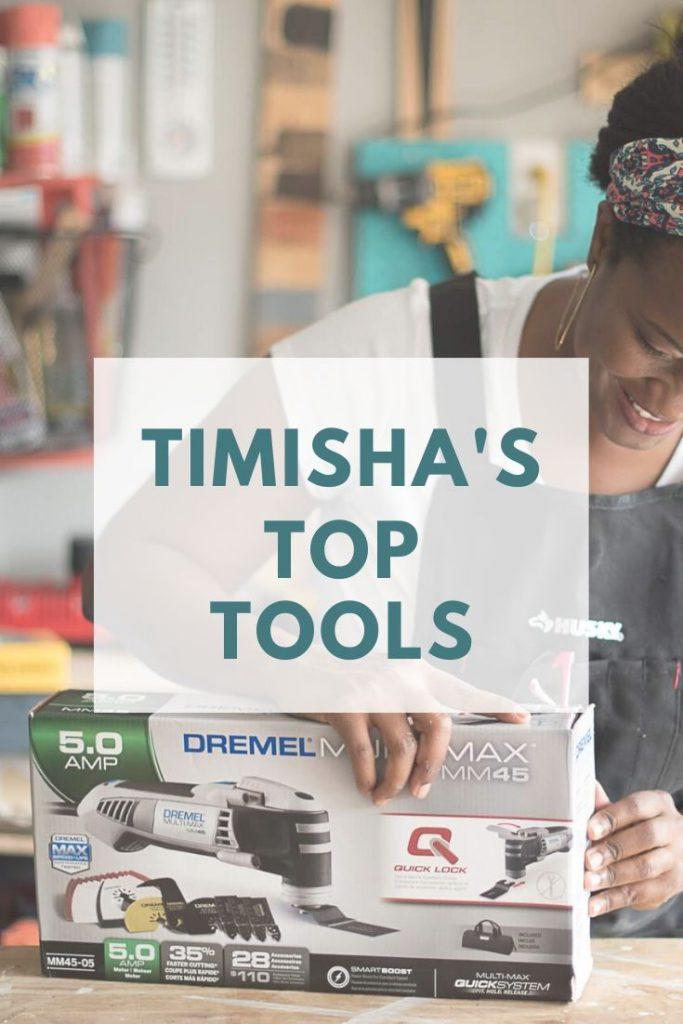 Shop Timisha's Favorite Tools Toolbox Divas recommended tools