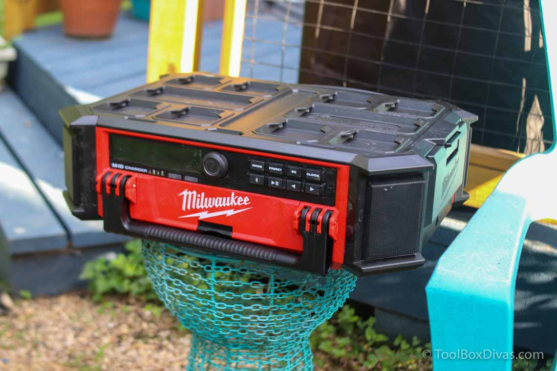 Milwaukee M18 PACKOUT™ Radio/Speaker with Built-In Charger