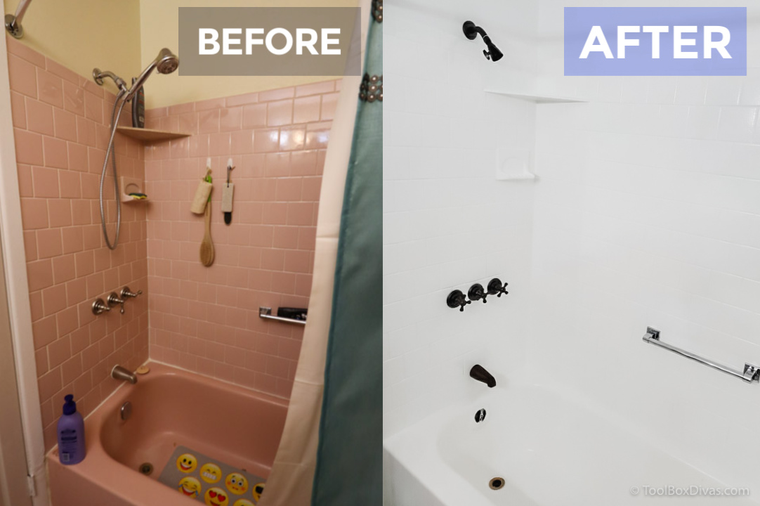 Yes, You Can Paint Your Bathtub and Tile: Here's How