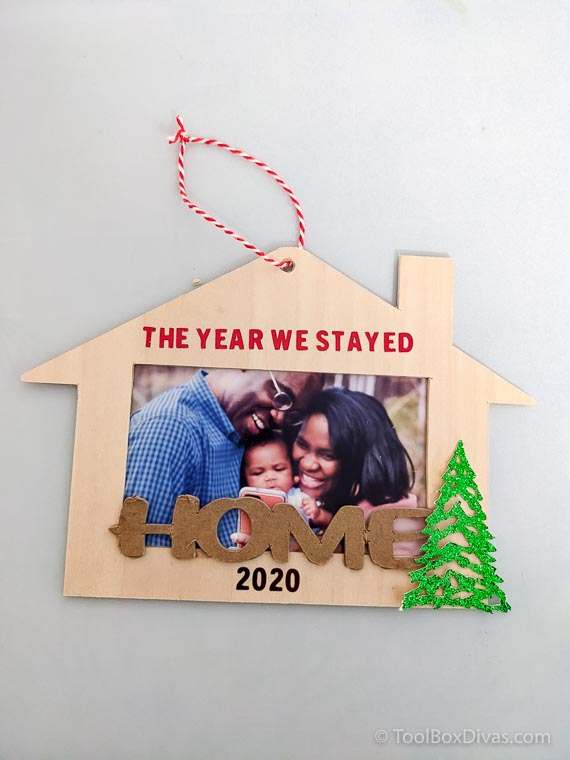The Year We Stayed Home DIY Ornament_ToolboxDivas 1f