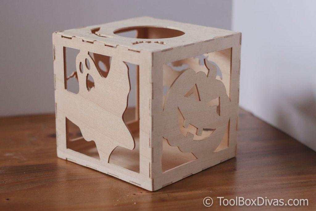 Halloween DIY Lantern using Cricut Maker
