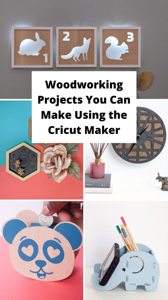 8 woodworking projects you can make using the Cricut Maker toolbox divas