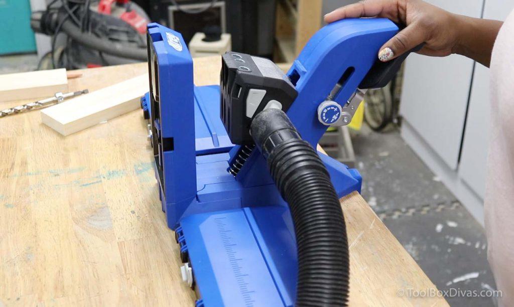 Kreg 720 Pro woodworking project